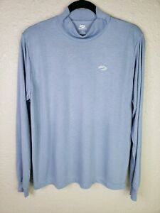 Brooks Dry Fit Coolmax Tech Running Shirt Long Sleeve Blue Womens Large