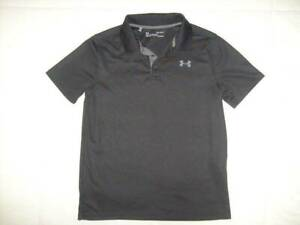 Boy's UNDER ARMOUR Size Youth Large Loose Fit Heatgear Polo Shirt - Exc. Cond!!