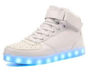 GleamKicks Electro LED Light Up Sneakers 11 Bright Colors & Flashing