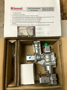 Rinnai Tankless Water Heater Gas Valve Kit  Parts # 104000021 New in Open Box