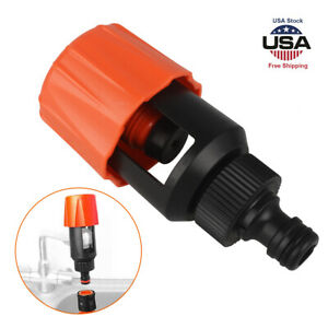 Faucet Tap Water Adapter Kitchen Pipe Hose Connect Quick Garden Joiner Universal