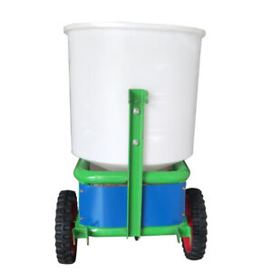 Tow-Behind ATV Tractor Broadcast Spreader Seeder Fertilizer Lawn Gargen 265lbs