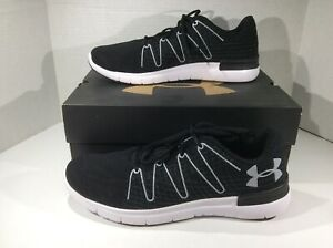 UNDER ARMOUR Mens Thrill 3 Black Running Athletic Shoes Sz 12 F12-57