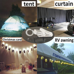 Hanging String Lights Card Photo Clip for Bedroom Room Party Decor Xmas Tree