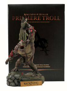 Kingdoms of Amalur: Reckoning - Prismere Troll Statue & Lithograph *BRAND NEW