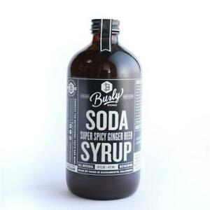 Burly Super Spicy Ginger Beer Syrup