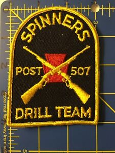 Vintage Spinners Drill Team Post 507 Patch Philadelphia Pennsylvania PA Ultimate