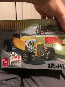 AMT Original Mod Rod Issue 1929 Ford Pickup and Roadster Double Kit. $65.00