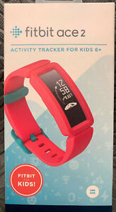 (New) Fitbit Ace 2 Activity Tracker For Kids WatermelonTeal  - Factory Sealed
