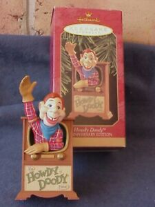 1947 - 1997 HOWDY DOODY Anniversary Edition, Hallmark Christmas Ornament. BOX