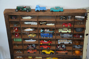 Antique Printers Display Toy Cars Knives Lighters Busses Lures Smalls Cool!