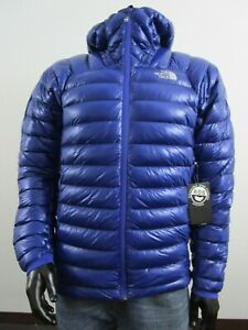 Mens S-M-L-XL TNF The North Face L3 Down Hoodie Insulated Climbing Jacket Blue