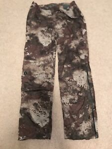 Cabela's Space Rain Instinct Back Country Pants with 4Most Dry Plus O2 Octane Lg