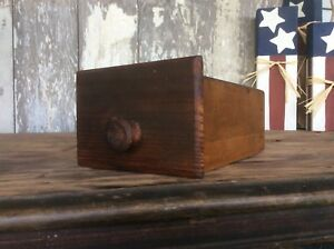 Sewing Wood Drawer Small Sewing Or Spice Drawer Wood Pull $21.24
