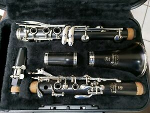 YAMAHA ADVANTAGE YCL400AD Bb WOOD CLARINET. MADE IN JAPAN. BEAUTIFUL CONDITION!
