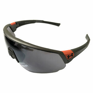 NEW Under Armour Changeup Sunglasses UA - Satin Carbon - Silver Mirror Lens
