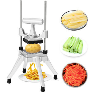 Vegetable Fruit Dicer Onion Tomato Slicer Chopper Restaurant Commercial NSF 1/4