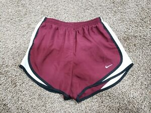 Nike Womens Dri Fit Running Shorts Lined Size Small