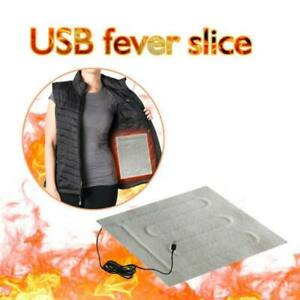 DC 5V USB Electric Pad Heater Cloth Heating-Element for Pet Warmer 31 x 24cm