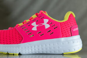 UNDER ARMOUR Micro G Motion shoes for girls NEW & AUTHENTIC US size (YOUTH) 1