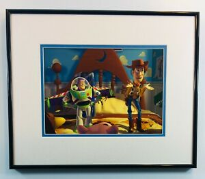 Toy Story 1996 Commemorative Lithograph Disney Store Framed $95.00