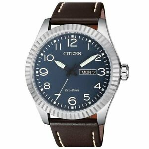 Citizen Eco Drive Men's Blue Dial Calendar Window 42mm Watch BM8530 11L