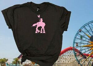 Disney Rides And Sayings T Shirts in Black with Rose Gold $7.99