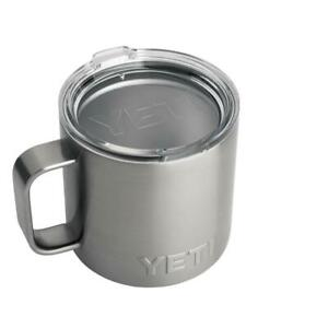 YETI Rambler 14oz Stainless Steel Vacuum Insulated Mug with Standard Lid