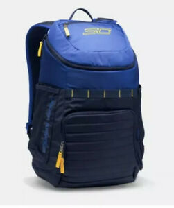 Under Armour UA UNDENIABLE SC30 Curry Backpack Blue 1294712 400 NEW