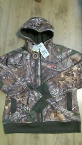 New UNDER ARMOUR Womens Full Zip CAMO HOODIE JACKET 1247102 SZ S ,M, Large $35.00