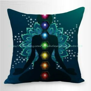 throw cushions online healing chakras meditation cushion cover