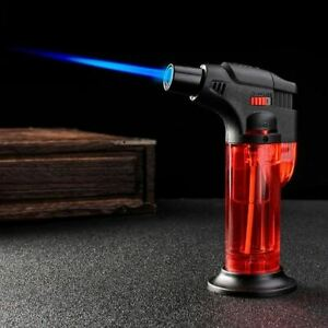 Windproof Refillable Lighter Torch Chef Cook Adjustable BBQ