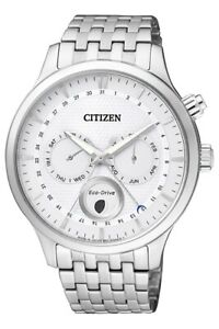 Citizen Men's Eco Drive Moon Phase Sapphire Crystal 42mm Watch AP1050 56A
