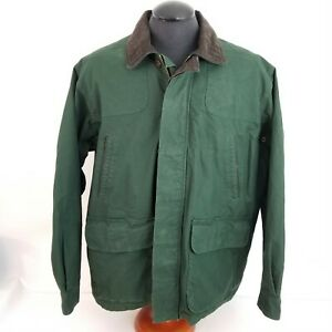 Orvis Mens XL Upland Chore Barn Hunting Shooting Field Jacket Green Game Pouch
