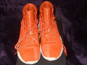 Under Armour Drive 4 Premium Basketball Shoes 1302941-840 OrangeNavy Choice NWB
