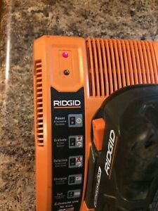 Ridgid Battery Charger Rapid Max 18V. Multi Chemistry. Li-ion  Ni-cd.