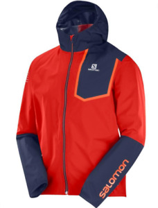 Brand New SALOMON Men's Bonatti Pro Waterproof Running Jacket (MEDIUM)