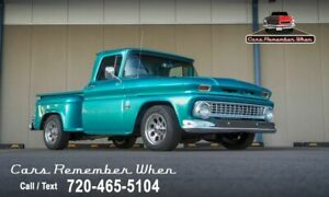 1964 Chevrolet C-10 Step Side Beautifully Built | I6 | Overdrive A 292 CID V8 700R4 Teal