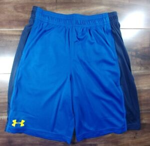 Under Armour Shorts Boys Size Large L Blue Steph Curry Warriors 1291693 400