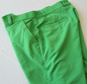 NICE Under Armour Flat Front Performance Golf Shorts 36
