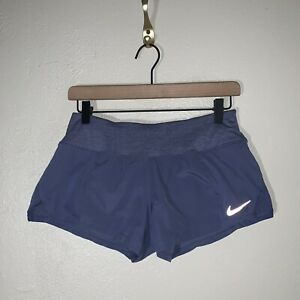 Nike Dri-Fit Womens Size Small Purple Running Athletic Shorts A43