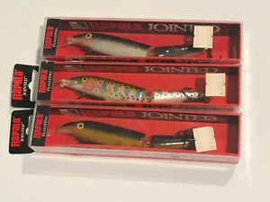 3x  Rapala Jointed floating lures