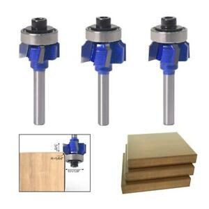 R1/R2/R3 Woodworking Milling Cutter 4 Teeth Trimming Cutter Edge Trimmer Tools