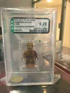 2015 LEGO STAR WARS - C-3PO RED ARM - 5002948 - AFA9.25 UNCIRCULATED