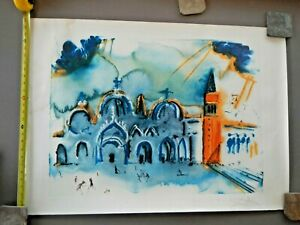 Salvador Dali Hand Signed Lithograph quot;Homage to Venicequot; $2700.00