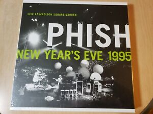PHISH Live at Madison Square Garden New Years Eve 1995 SEALED RSD 6 LP Box Set