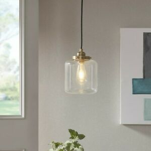 INKIVY Industrial Pendant With Anique Brass Finish II151 0099