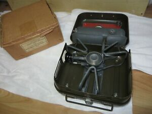 VITAGE ENDERS 9061 GERMAN ARMY CAMP STOVE NEVER USED IN ORGINAL CARTON BOX