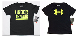 Under Armour Boys Shirt Baby Toddler Short Sleeve Sizes 12M 24M Black