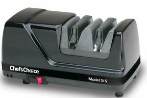 Chef's Choice 2 Stage Knife Sharpener Electric Straight Serrated Edge Pro Sharp